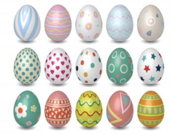 💥🐣 Jouez avec nous et trouvez les oeufs de Pâques